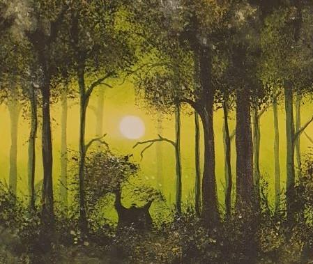 Créa'zen, Christelle Balmer - cours de peinture à thème